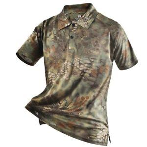 camouflage polo shirt