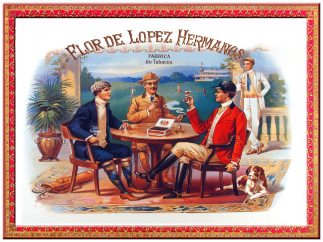 "1345.Cuban Cigar Label poster/""Habana/""Bar art Decor.Smokes.Home Interior design"