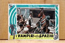 VAMPIRI DELLO SPAZIO fotobusta poster Hammer Horror Sci Fi Quatermass M83