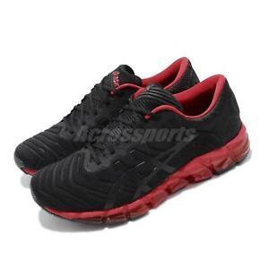 Asics Gel-Quantum 360 5 Black Speed Red Men Running Shoes Sneakers 1021A113-001