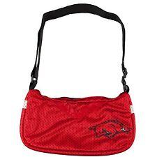 "NCAA Arkansas Razorbacks Hogs UA U of A UARK ""Jersey"" Style Purse Bag"