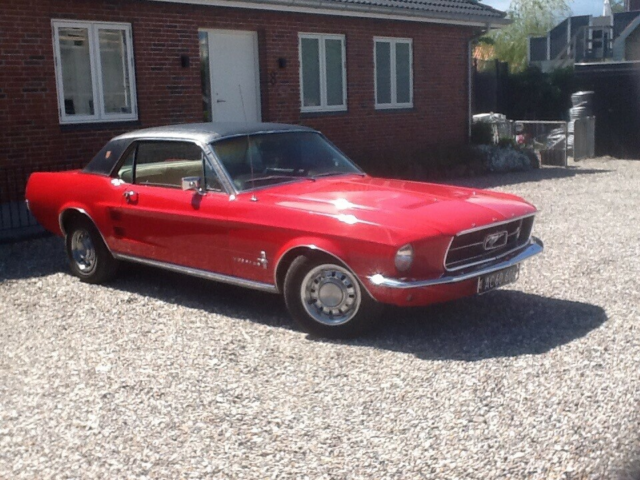 Ford Mustang, Benzin, 1967, Ford Mustang 1967 med 289…