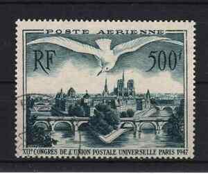 FRANCE-STAMP-TIMBRE-AERIEN-20-034-UPU-PONTS-PARIS-MOUETTE-500F-034-OBLITERE-TTB-R195