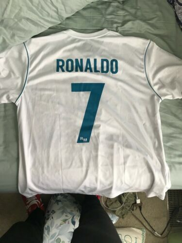 new product 35749 d44da Cristiano Ronaldo Real Madrid Jersey for sale online | eBay