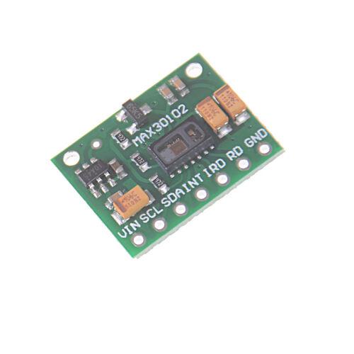 MAX30102 Oximeter Heart Rate Beat Pulse Sensor 1.8V-3.3V Replace MAX30100 FgGSS
