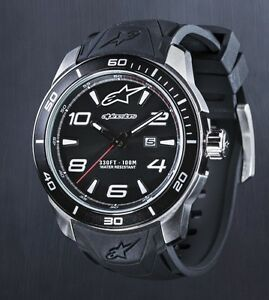 ALPINESTARS-TECH-WATCH-3H-STAINLESS-STEEL-CASE-AND-SILICON-STRAP-MENS-XMAS-GIFT