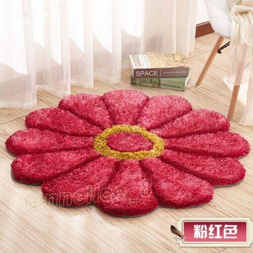 Shaggy Fluffy Rugs Anti-Skid Area Rugs Dining Room Carpet Home Bedroom Floor Mat