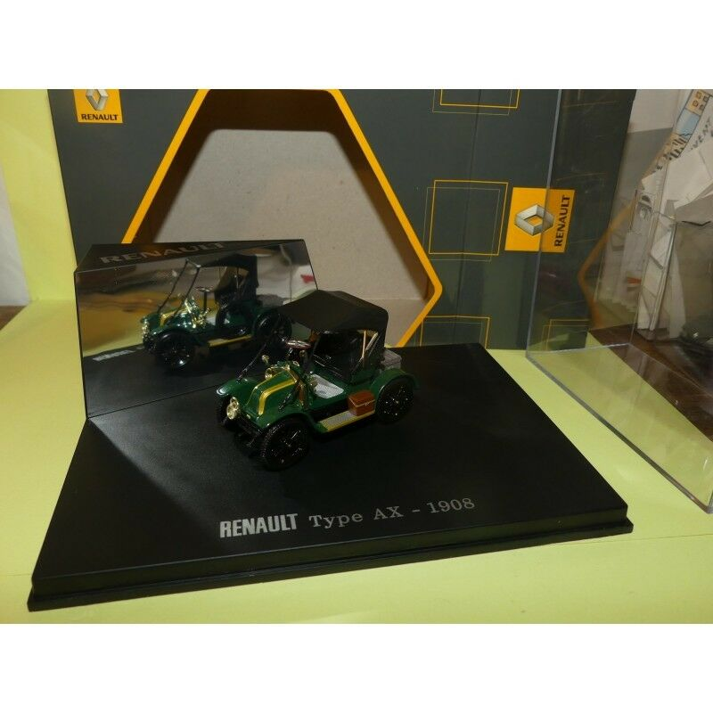 RENAULT TYPE AX 1908 green UNIVERSAL HOBBIES 1 43