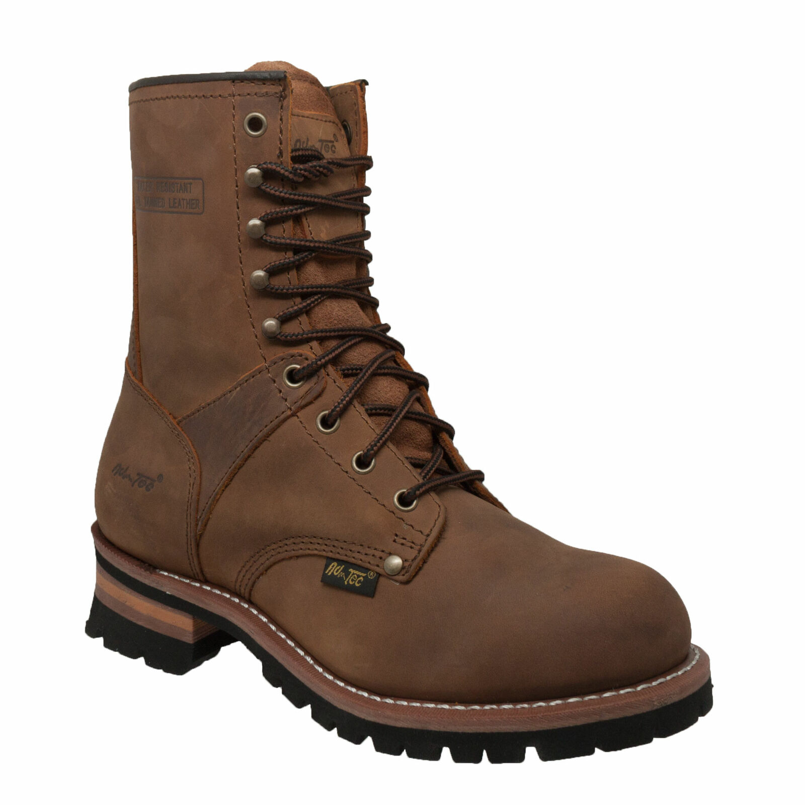 New Hypard Men's 9  Logger Brown