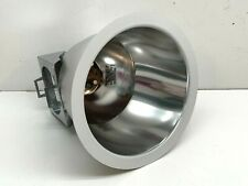 """Lightolier 8011CCLW Recessed Downlight Calculite Trim 4/"""" Clear Reflector"""