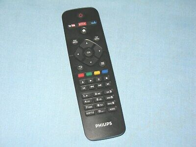 New Smart TV Remote Control for Philips with Netflix Vudu Youtube Keys 50PFL5602