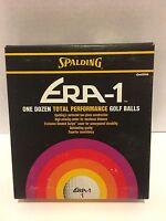 Spalding Era 1 One Dozen Total Performance Golf Balls In Box