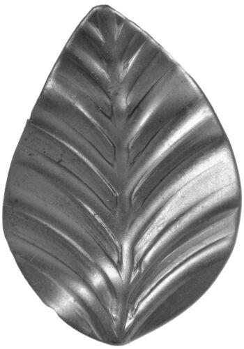 10x Zierblumen Rosette Zierrosette Zaunelement aus Stahl Zaunornament 001.30 Tor