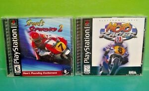 Sports-Superbike-2-Moto-Racer-Playstation-1-2-PS1-PS2-Rare-Games-Complete