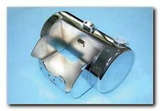 SANTEE CHROME ROUND OIL TANK FOR '00-06 HARLEY TWIN CAM SOFTAIL MODELS