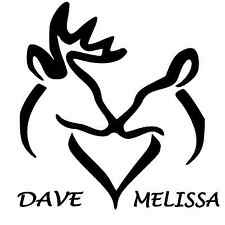 Personalized Buck and Doe Window Sticker Decal 23""