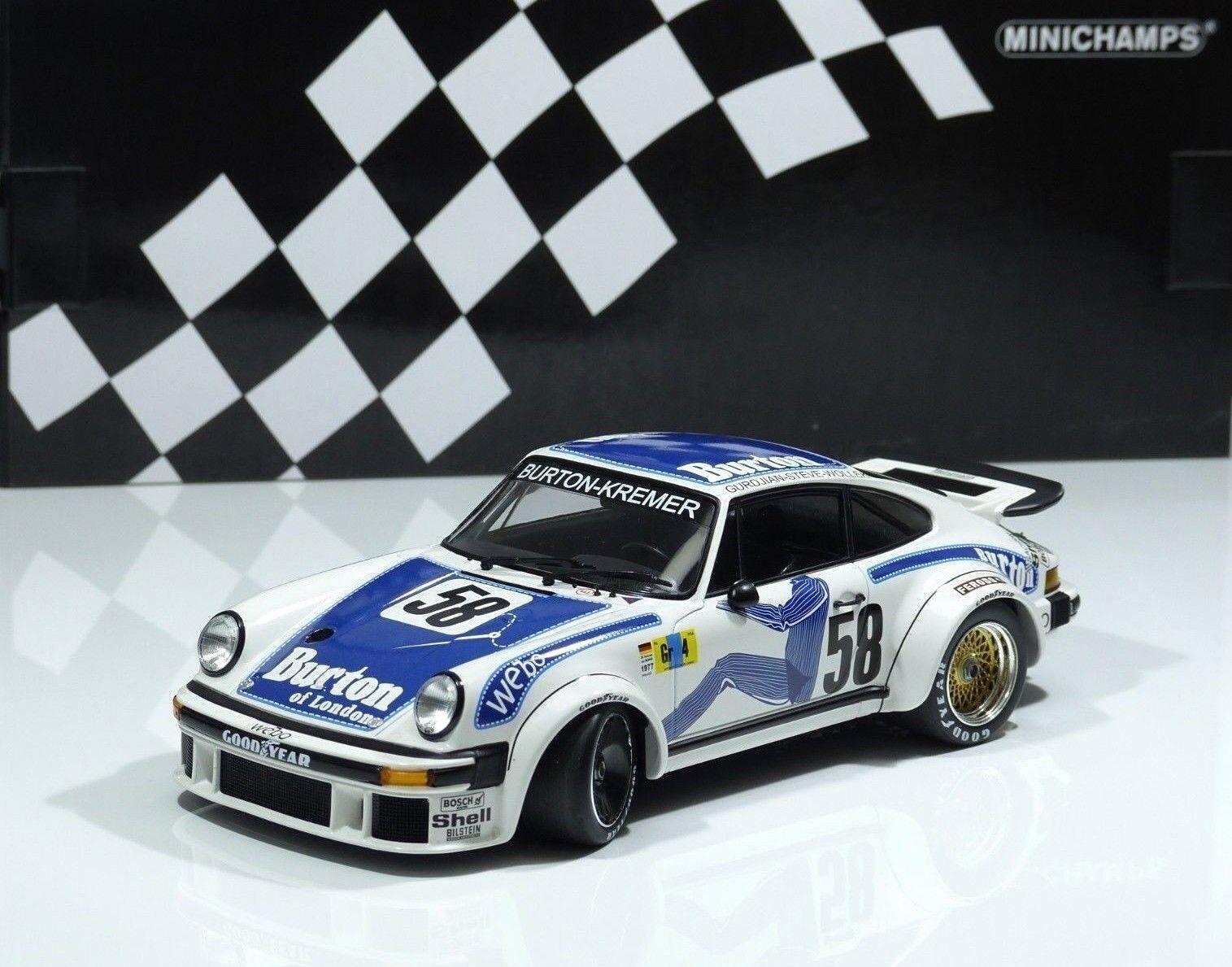 Porsche 934 Kremer 24 H LE MANS 1977  58 Wollek, Gurdjian, Steve MINICHAMPS 1 18