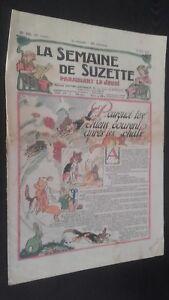 Revista Dibujada La Semana De Suzette que Aparecen El Jueves 1930 N º 10 ABE