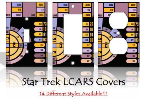 Star Trek LCARS Sci-Fi Panneau De Commande Interrupteur de lumière Couvre Home Decor Outlet
