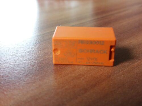 1 STÜCK SCHRACK RE030012  RELAIS 12VDC//6 A,1xSCHLIESER NEU PCB