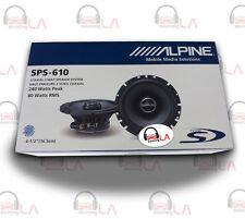 "Alpine SPS-610 2-Way 6.5"" Car Speaker"