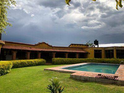Hermosa casa de campo con alberca en renta en Tlalixtac