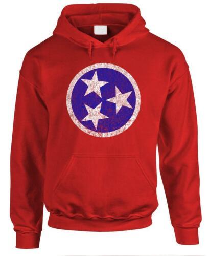 TENNESSEE FLAG Fleece Pullover Hoodie