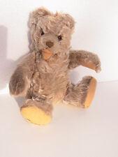 Alt Teddy Teddybär Hermann Stoffteddy  Stofftier Bär Baer Zotty  21cm 1950