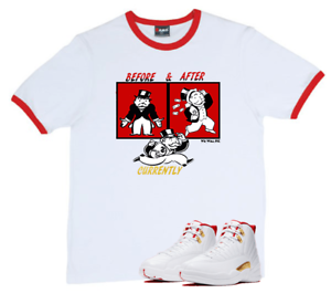 We Will Fit Shirt Nike Air Jordan 12 Fiba White University Red Ebay