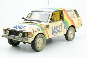Top marques Pd01a Range Rover Paris Dakar Médical Gagnant 1981 Modèle Race Car 1:18