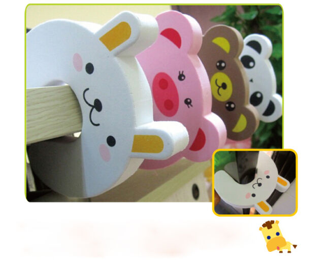 New 7pcs Bendy Cartoon Door Drawers Cupboard Safety Lock For Child Kids Baby