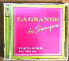 LA GRANDE DE MADRID DE SIEMPRE - DE VUELTA A LA SALSA - CD