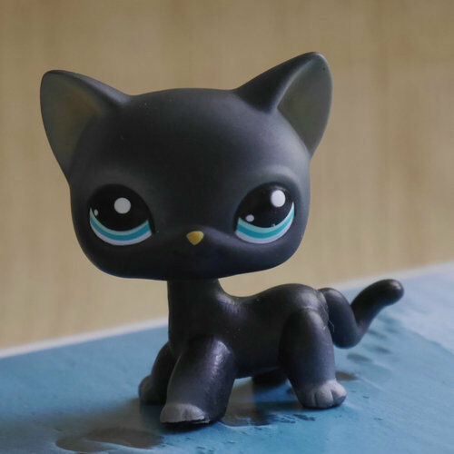 Buy Lps Collection Action Figure Gift Black Cat Kitty 2 Inch