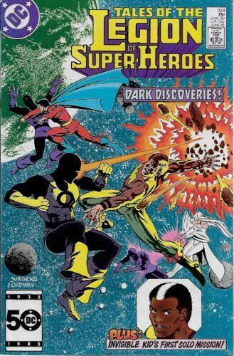 1985 Paul Levitz /& Dan Jurgens Tales of The Legion of Super-Heroes No.324