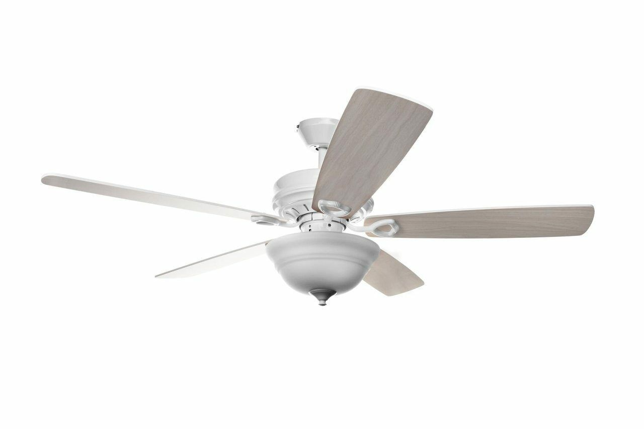 Indoor Ceiling Fan 52  5 Blade with Remote Control
