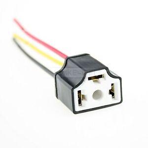 H4-Keramik-Lampensockel-Lampen-Stecker-Lampenstecker-Fassung-Sockel-Anschluss-Neu
