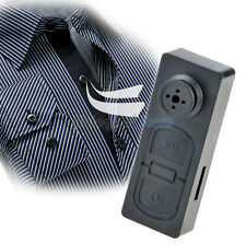 Mini Button Pinhole Spy Camera Hidden DVR PC Camcorder 30fps Pinhole Surveille