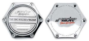 Insurance Holder Chrome-Plated By Simoni Racing Pbsr / X Tax Holder