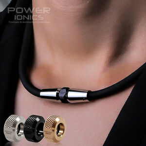 New-Power-Ionics-Full-Throttle-3000ions-cc-Sports-Titanium-Necklace-w-3-Pendant