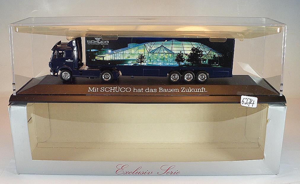 Herpa Herpa Herpa 1 87 PC Mercedes Benz Sattelzug Mit SCHÜCO hat das Bauen Zukunft OVP  6274  | Hat einen langen Ruf  bbe948