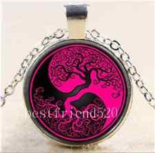 Viking Yin Yang Wolf Tree of Life Silver Coin Keychain Key Chain Token Valhalla