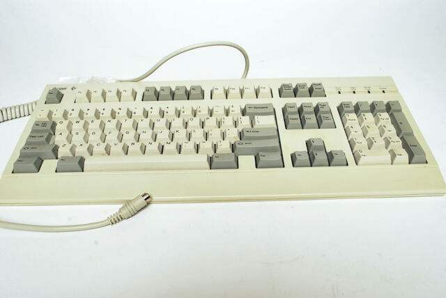 Vintage Acer 6511 Mechanical Clicky Keyboard PS/2 1994 flaw