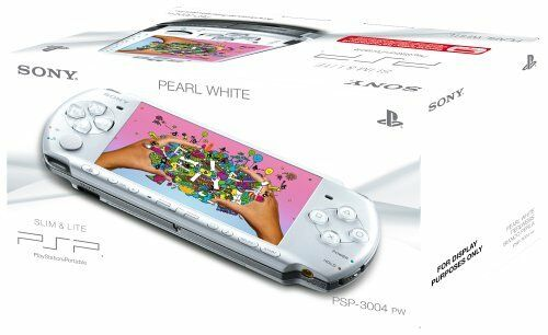 1 of 1 - Sony PSP 3000 Series Slim and Lite Handheld Console (PEARL White) New Sealed