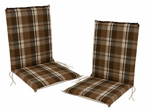 Cairo Weihnachtsdeko.Details Zu Gartenstuhlauflage Stuhlpolster Sesselauflage Garten Auflage Cairo Braun 2 Stück
