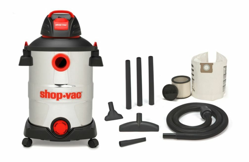 New Shop-Vac Portable Wet Dry 12-Gallon 6-Peak HP Shop Vacuum Vac Cleaner