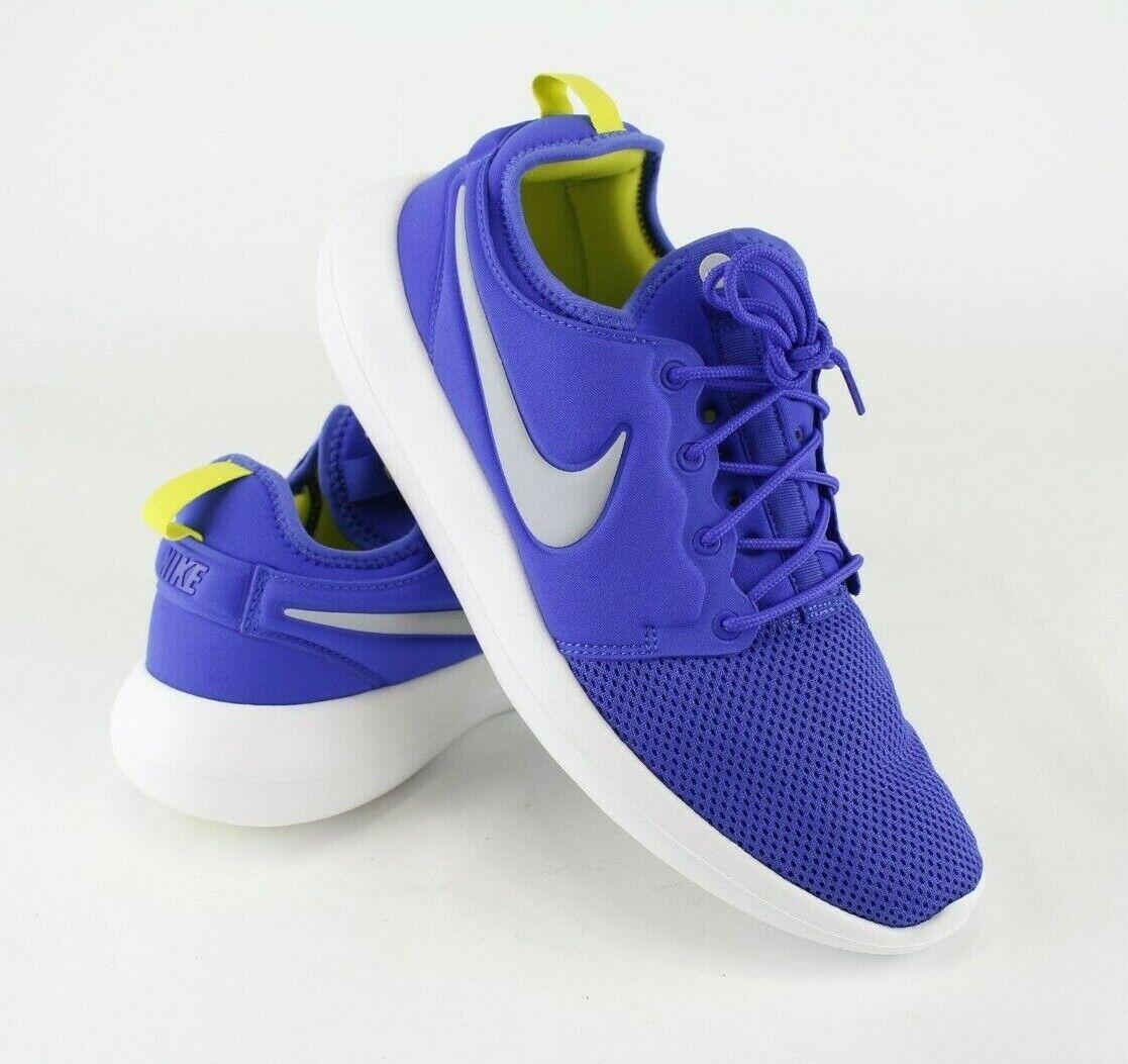 Nike Men's Roshe Two Running shoes Paramount bluee 844656401 Size 11.5 Retail  90