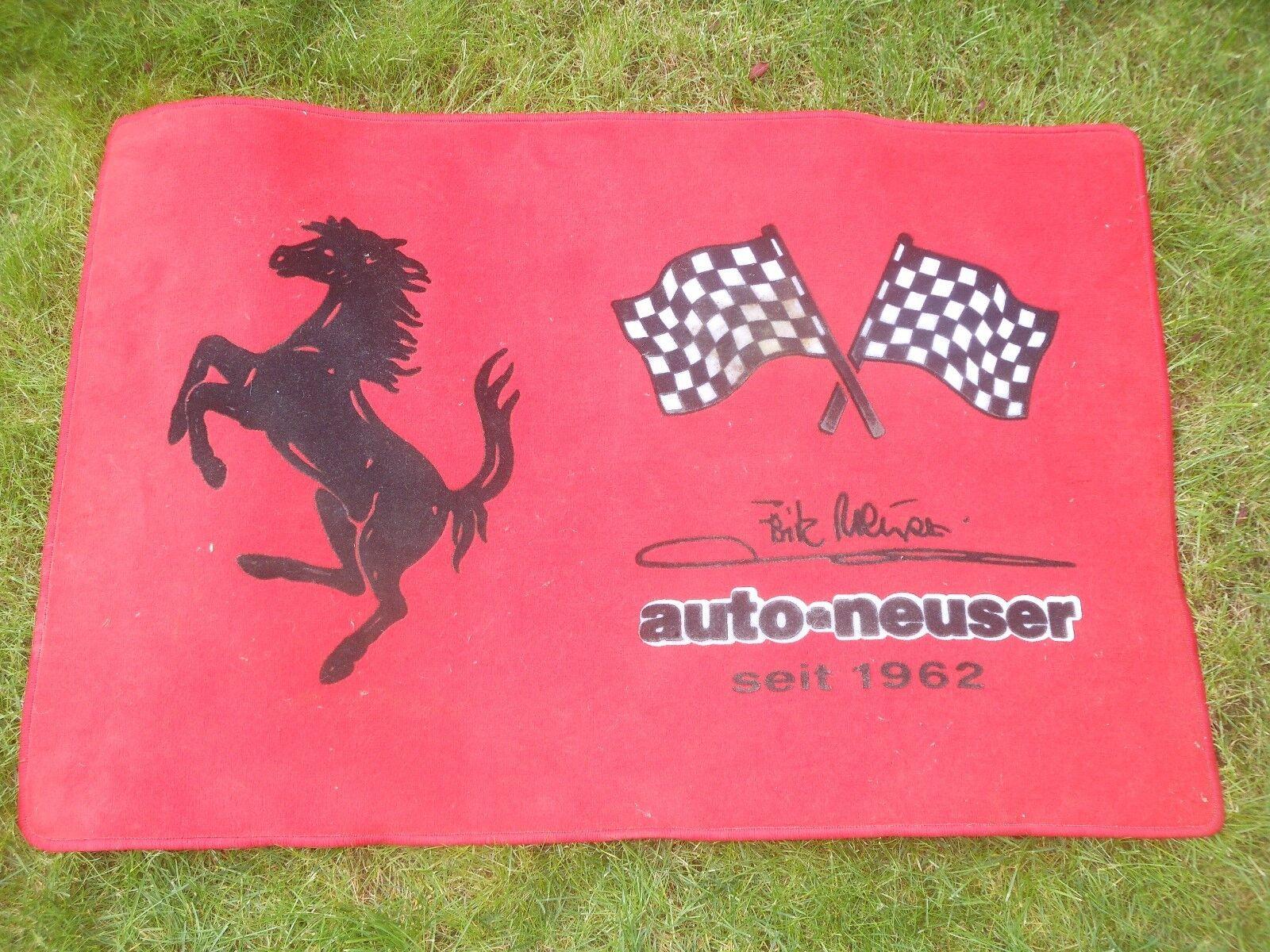 Original Ferrari Marchands de  tapis-Ferrari Neusser Nuremberg - 80 x 120 cm  gros prix discount