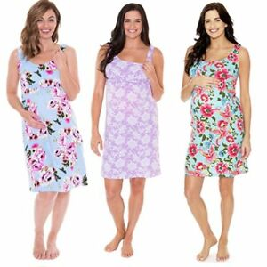 7ff28b1340aac Image is loading Pregnant-Clothes-Women-Summer-Floral-Maternity-Dress -Casual-