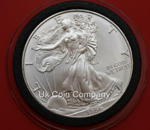1996 America Key Date 1oz Silver Liberty Eagle One Dollar Coin Low Mintage Key