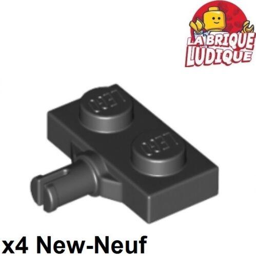x4 Plate Modified 1x2 Fixa roue Wheel Holder noir//black 21445 NEUF Lego